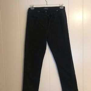 NYDJ size 10 Black straight leg jeans